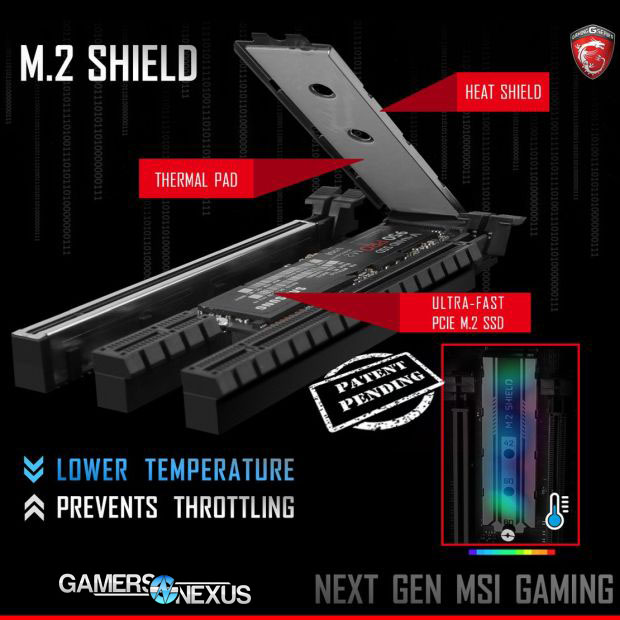 MSI's M 2 'Heat Shield' Increases SSD Temperature | GamersNexus