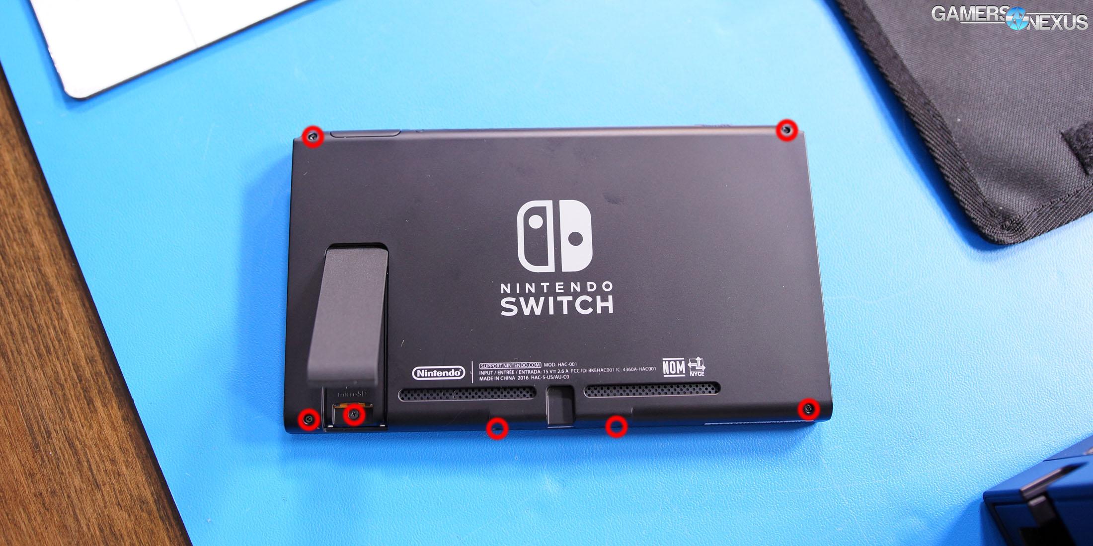 Nintendo Switch Tear-Down & Internal Components