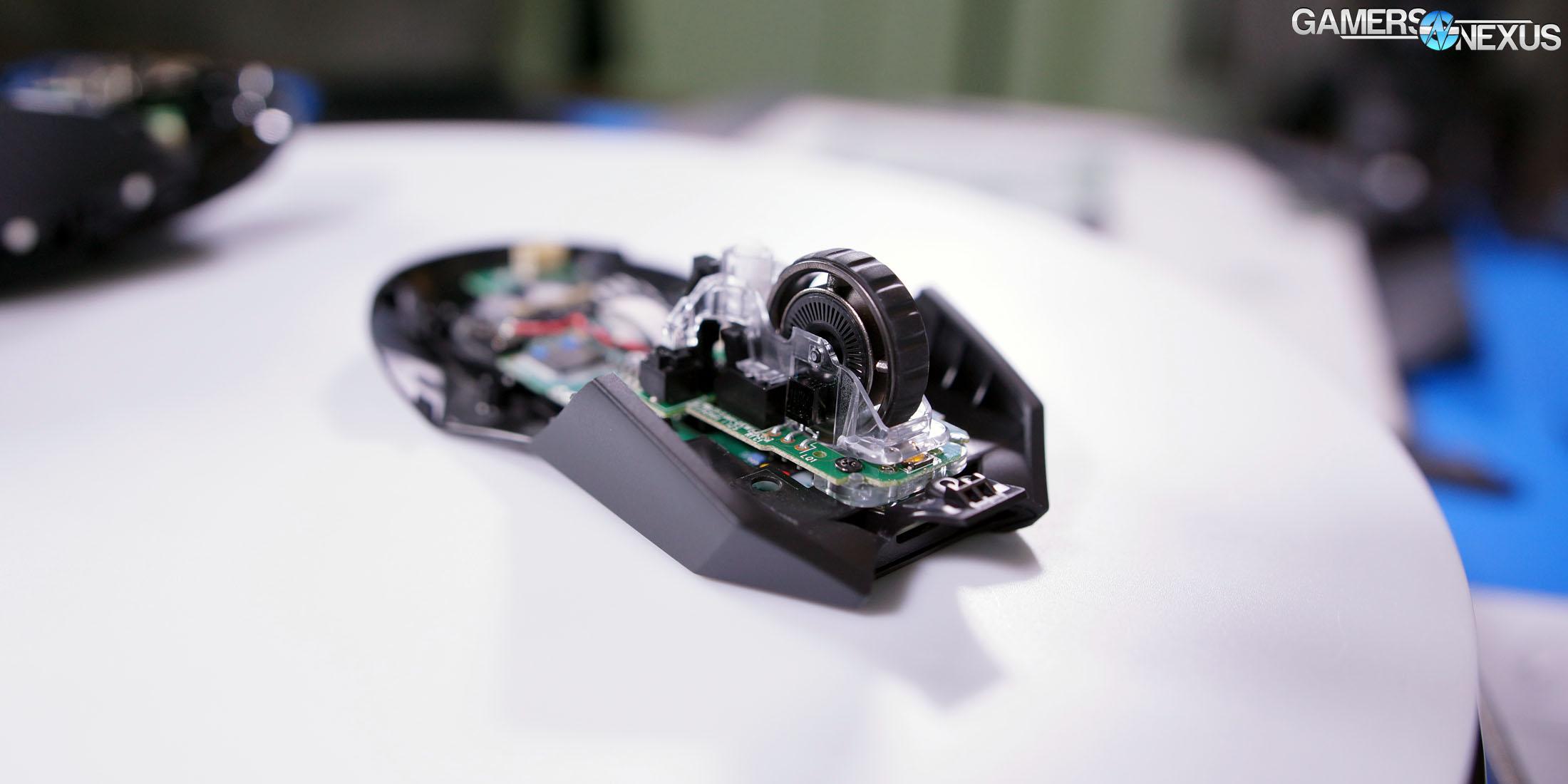 Tear-Down: Logitech G903 & Wireless Charging 'Powerplay' Mat