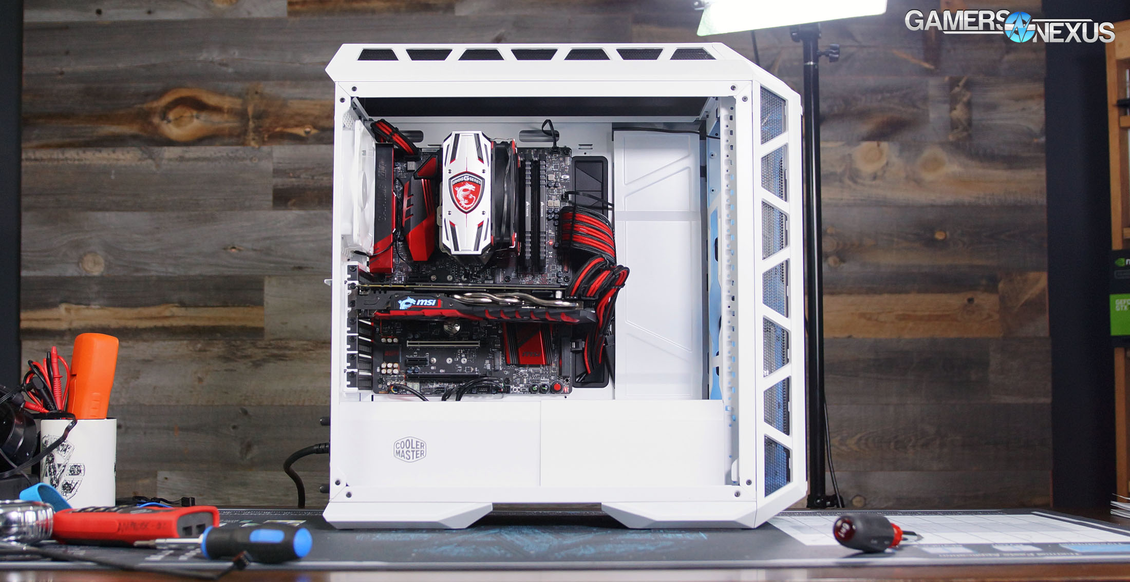 Cooler Master H500P Mesh Case Review: Thermals, Airflow