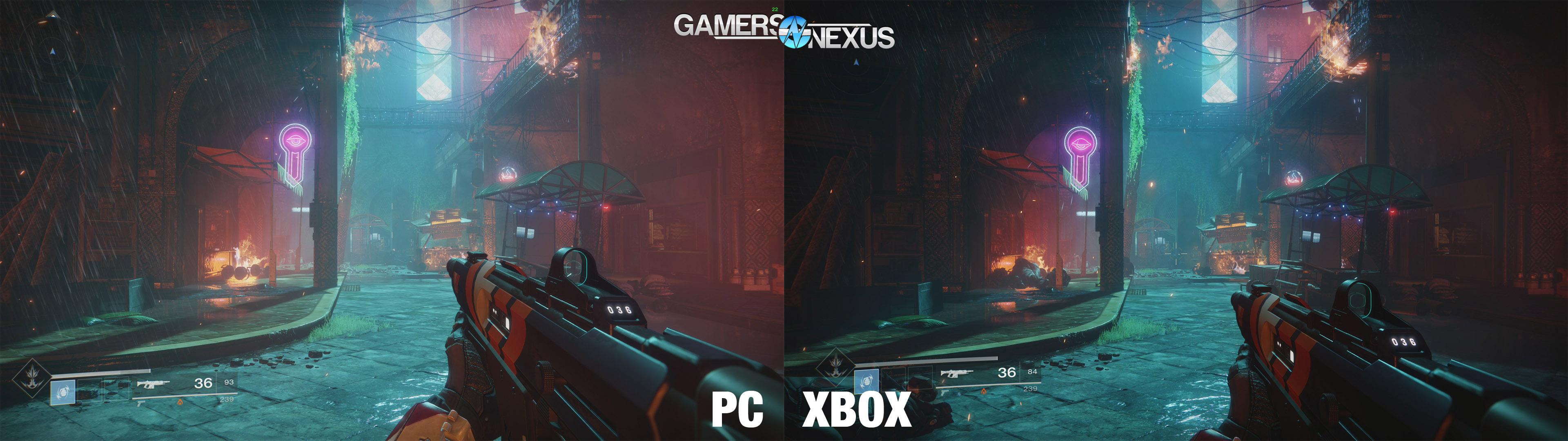 Xbox One X vs  $500 PC - Destiny 2 & Assassin's Creed