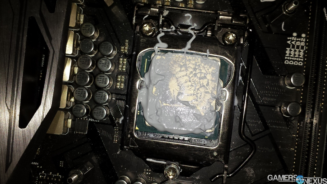 13 thermalpaste too much after