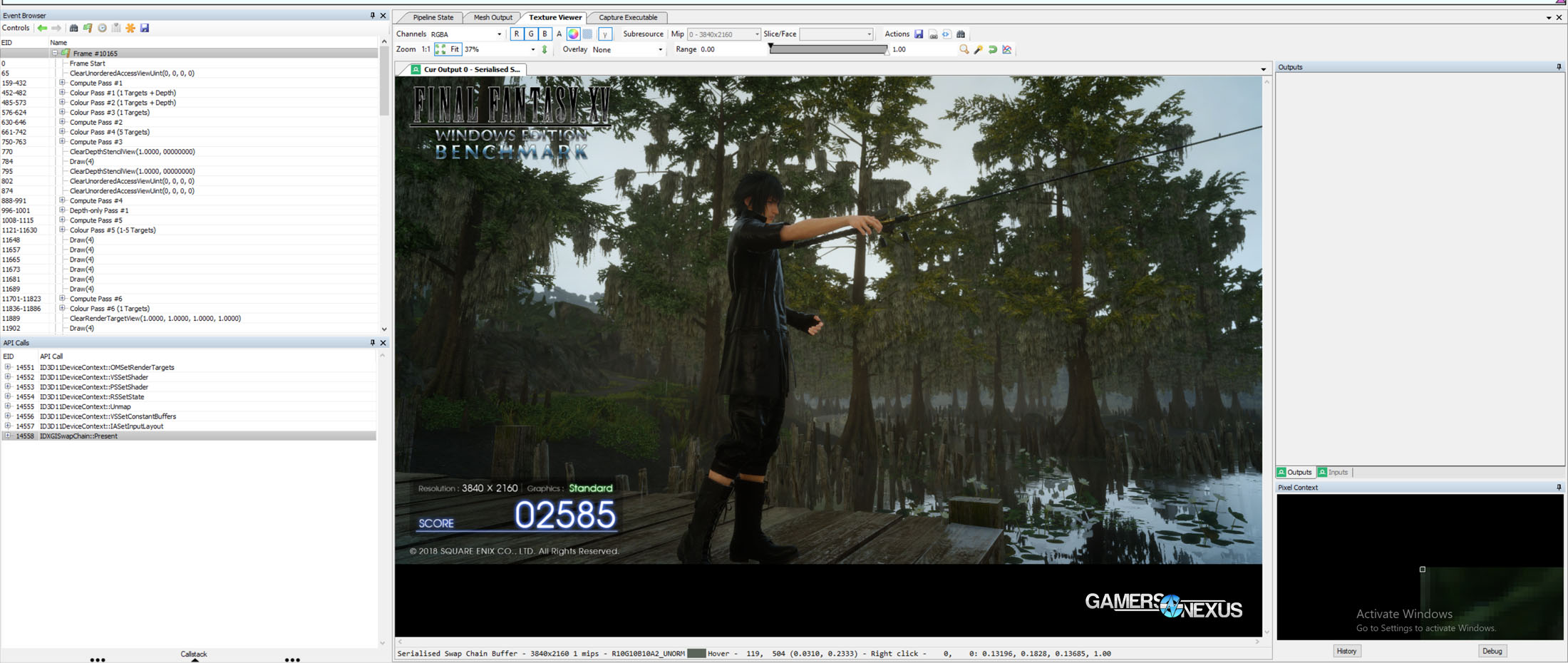 ffxv fishing rendered