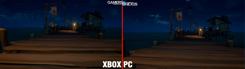 Sea Of Thieves Xbox Vs Pc Comparison Graphics Performance