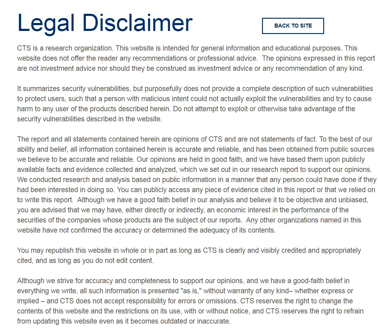 legal disclaimer amd