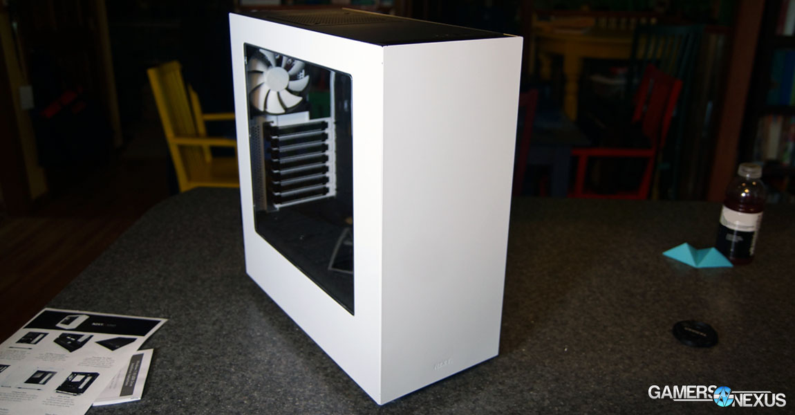 Nzxt S340 Case Review Minimalism Amp Clean Cable