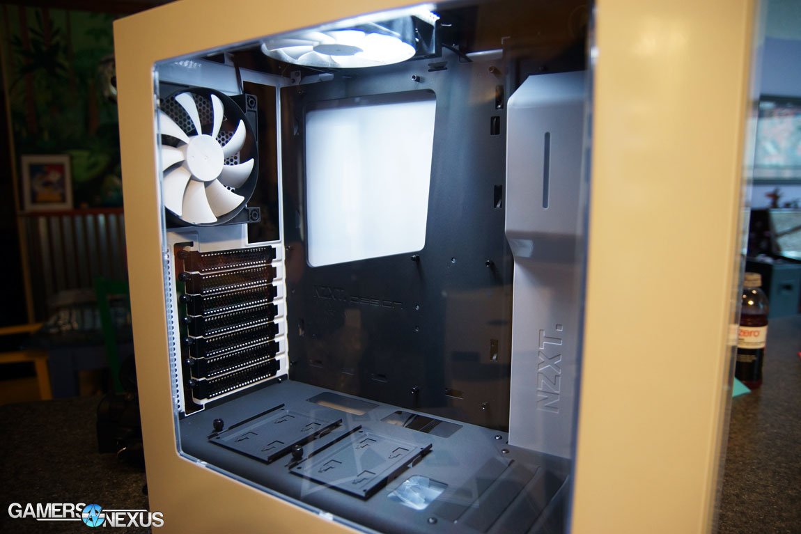 NZXT S340 Case Review - Minimalism & Clean Cable ...