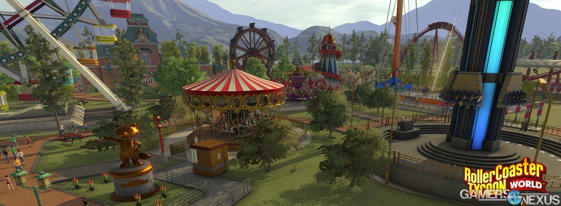 RollerCoaster Tycoon World Release Date & Beta Confirmed