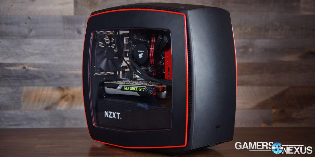 Nzxt Manta Mini Itx Case Review Amp Benchmark Gamersnexus