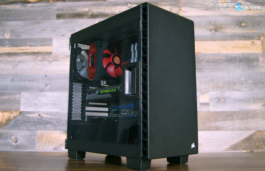 competitive price 4a2a9 3caff Corsair Carbide 400C Review vs. S340, P400 - The Most Comprehensive ...