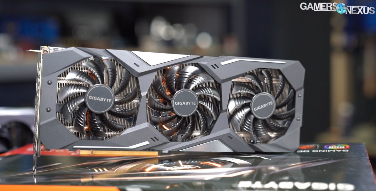 Gigabyte RX 5700 XT Gaming OC Review: Thermals, Noise, & Value vs. Pulse &  Evoke | GamersNexus - Gaming PC Builds & Hardware Benchmarks