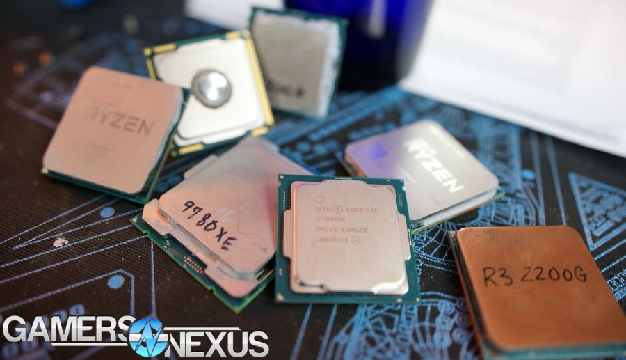 Awards: Best CPUs of 2018 (Gaming, Production, & Disappointment)