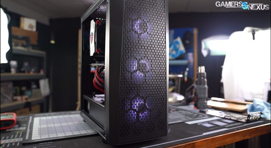 Thermaltake Versa J24 Case Review: Budget Gaming Thermals & Noise