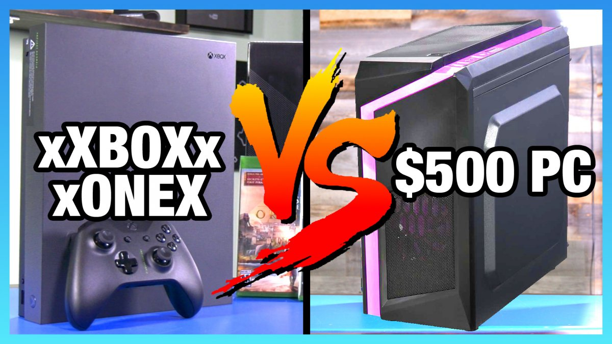 Xbox One X vs  $500 PC - Destiny 2 & Assassin's Creed