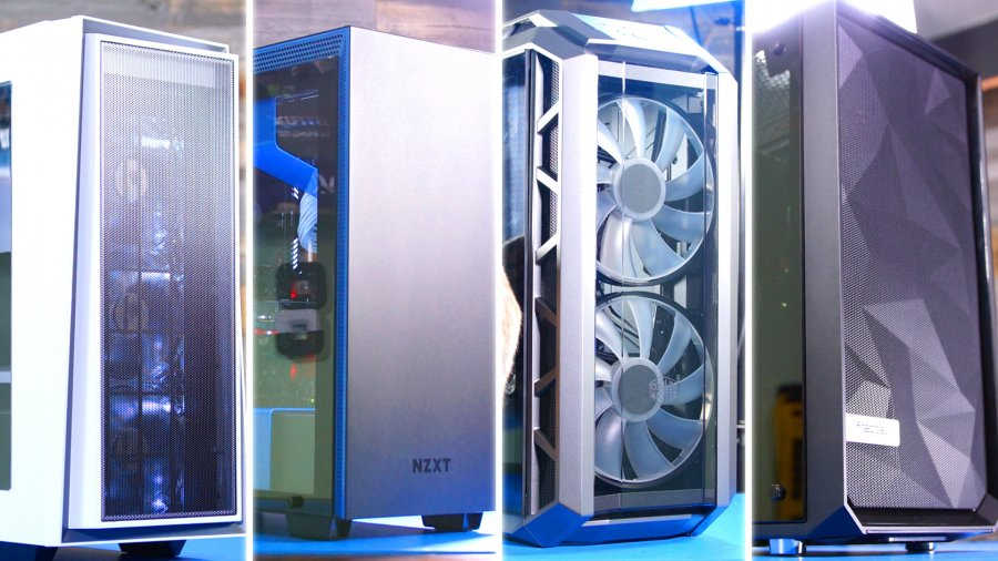 The Best PC Cases of 2017: Awards for Airflow, Noise, Design, & More