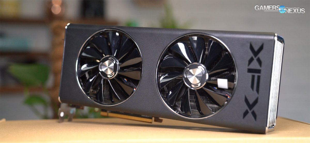 Xfx Rx 5700 Xt Thicc Ii Ultra Review Hard Pass Gamersnexus Gaming Pc Builds Hardware Benchmarks