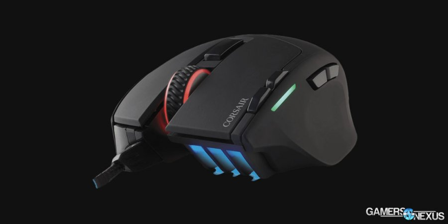 "Corsair Intros $50 RGB ""Sabre"" Mouse with Optical Sensor"