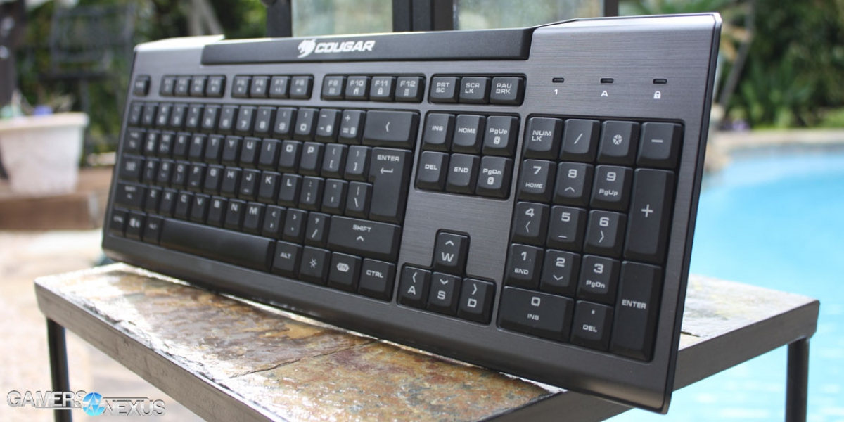 Cougar 200K Keyboard Review - Affordable Alternative to Mechanical Switches