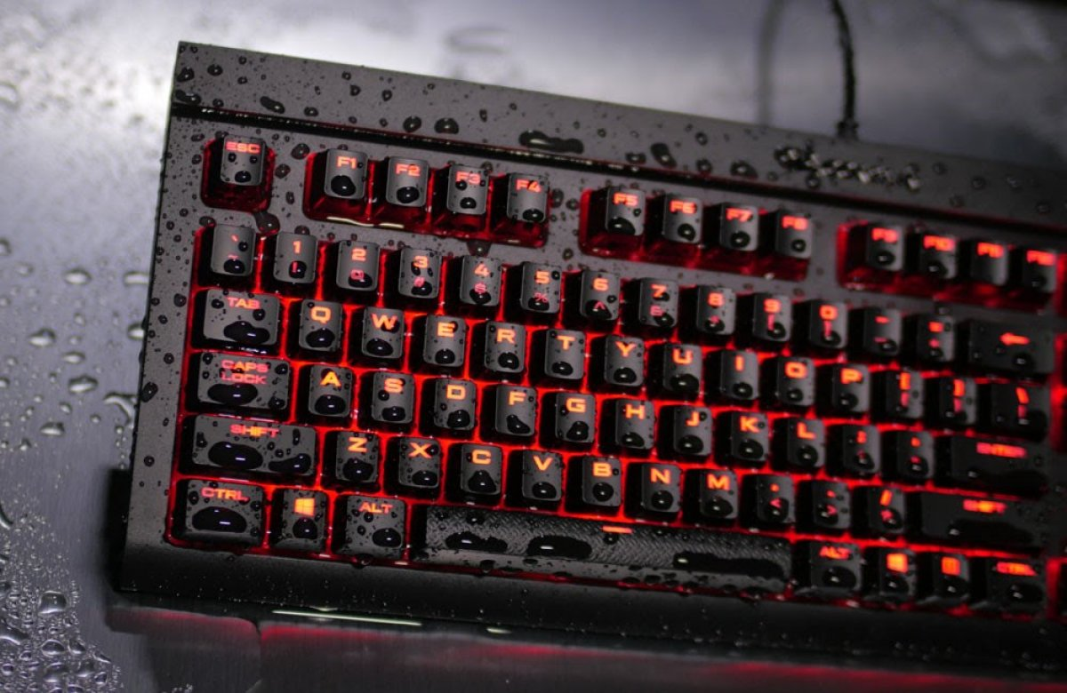 corsair k68 rgb mechanical gaming keyboard review