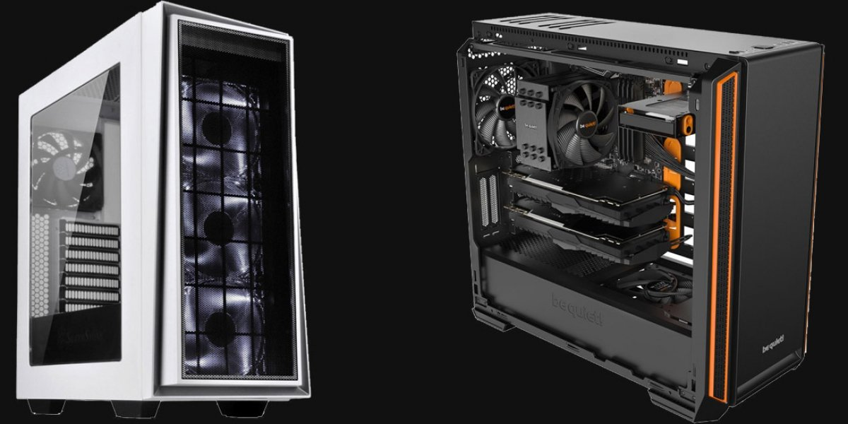 Airflow vs. Silent Case: Noise-Normalized Thermals