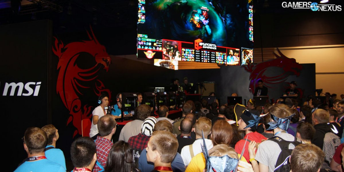 The Growth of Live eSports at PAX