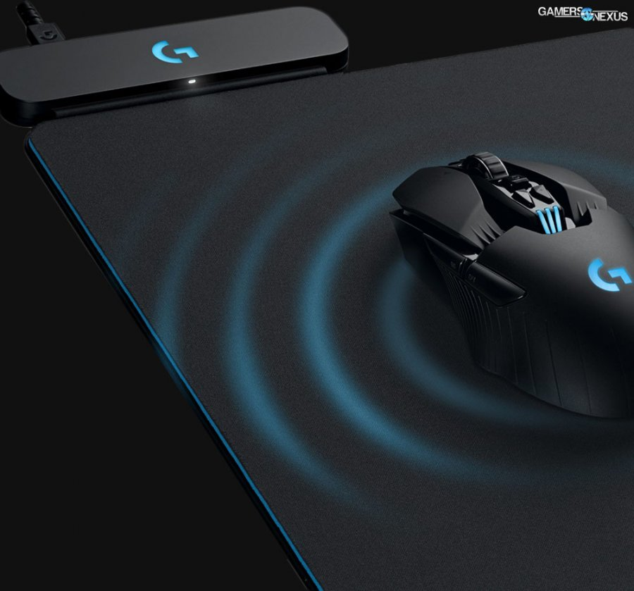 Logitech's Wireless Charging 'PowerPlay' Solution & G903, G703 Mice
