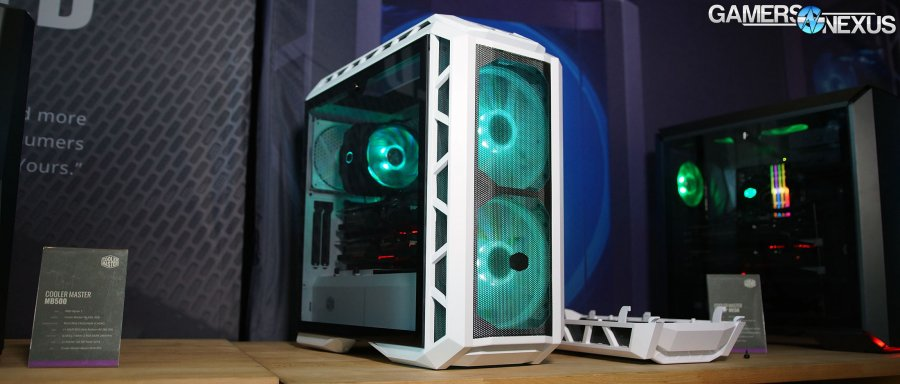 Cooler Master H500P Mesh & H500M Cases at CES 2018