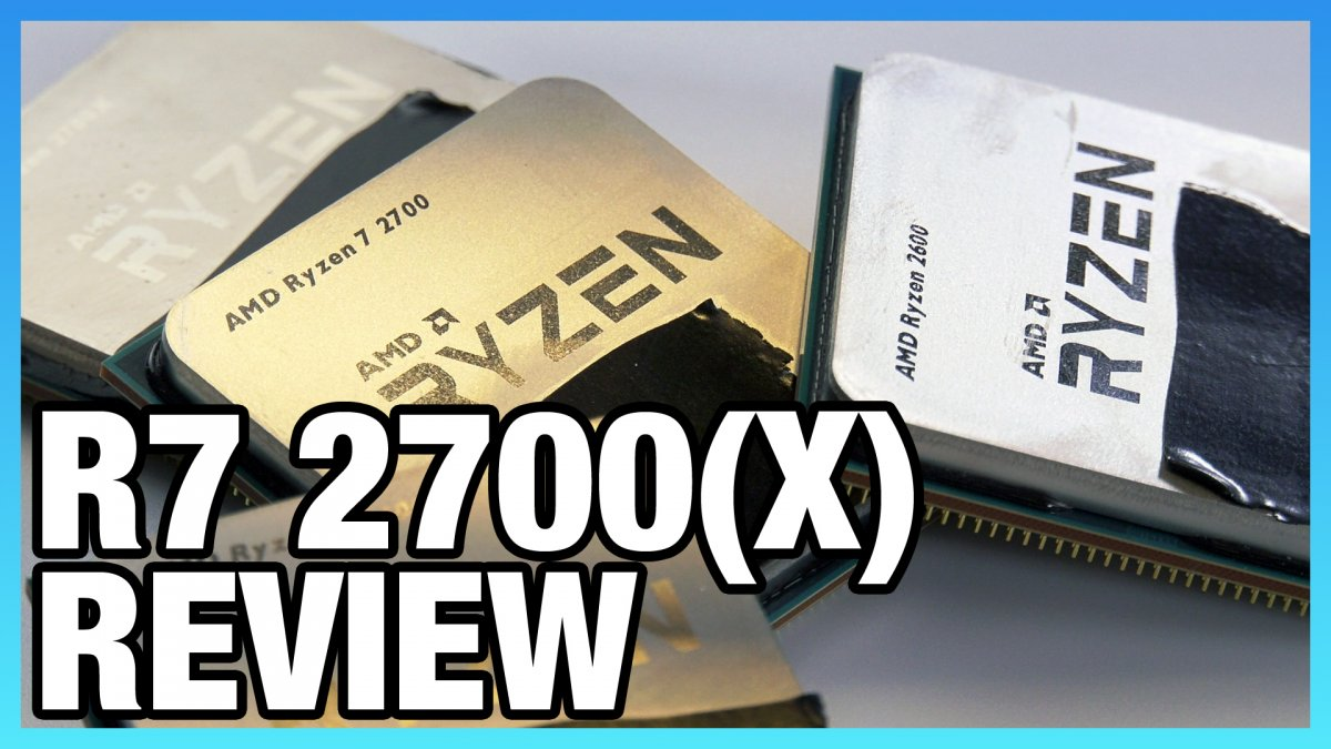 AMD R7 2700 & 2700X Review: Streaming Benchmarks, Memory Scaling, & Volt-Frequency Performance