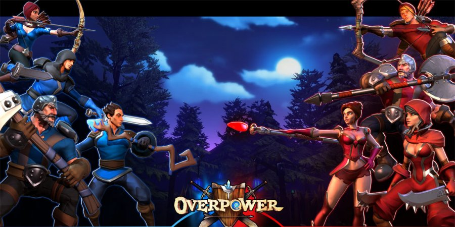 Overpower, a Fantasy PVP Arena Inspired by Unreal Tournament