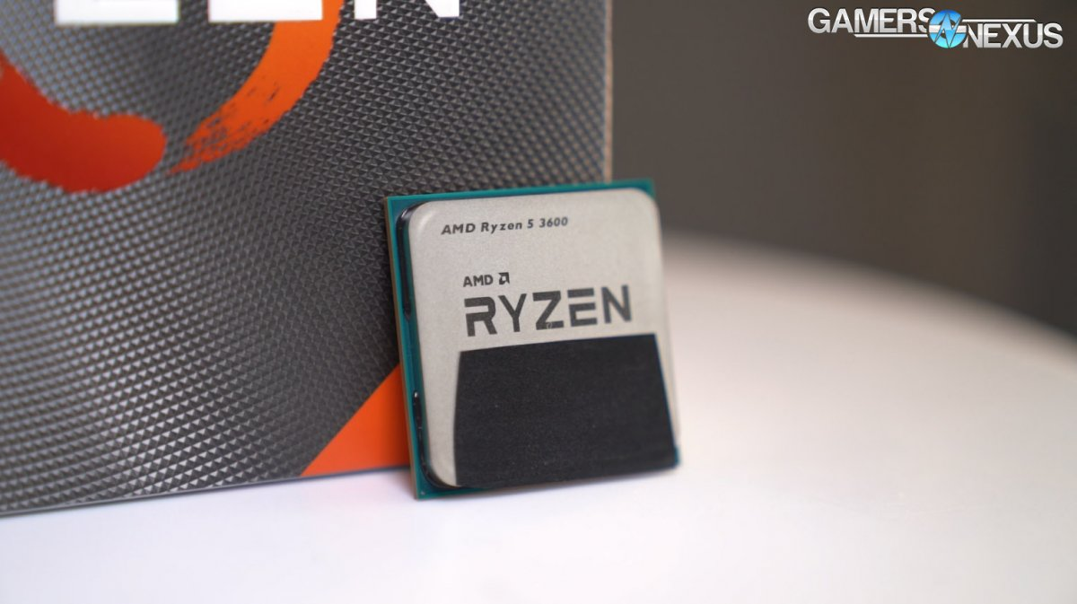 Amd Ryzen 5 3600 Cpu Review Benchmarks Strong Recommendation From Gn Gamersnexus Gaming Pc Builds Hardware Benchmarks