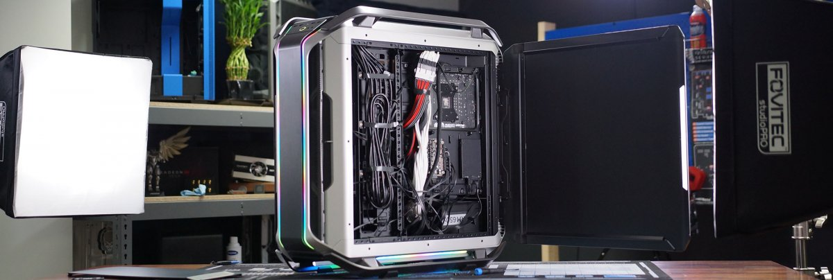 Cooler Master Cosmos C700M Review: Thermals, Noise, & Build Quality
