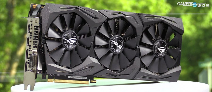 ASUS 1080 Ti ROG Strix Review vs. FTW3: GPU Coolers Normalized for Noise