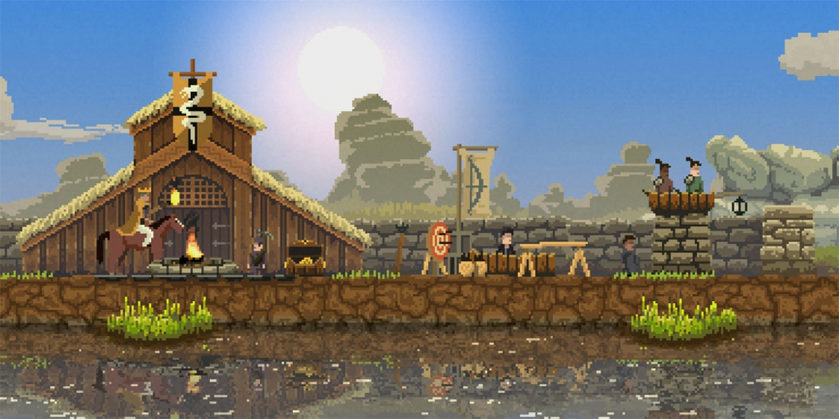 city building side. Side Scroller  Kingdom Mixes Elements of Terraria and City Builders