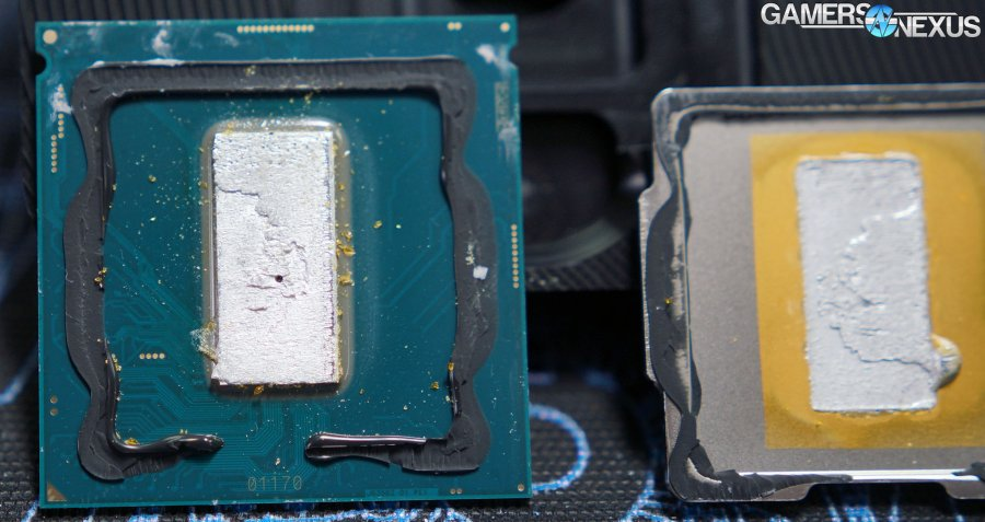 Intel i9-9900K Delid with Liquid Metal & 5.4GHz Overclock