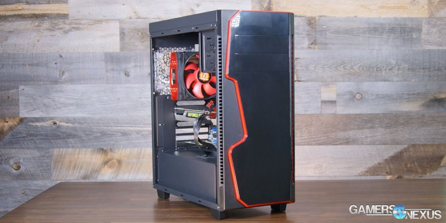 Rosewill Gungnir Case Review & Tear-Down: Disappointing Execution