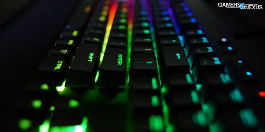 Corsair K65 RGB Rapidfire Keyboard Review: The New MX Speed Switch