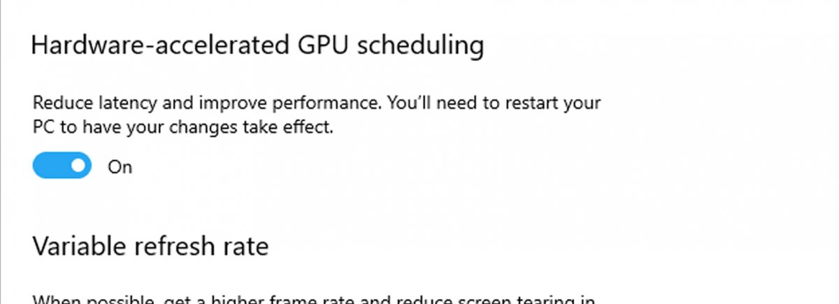 Windows 10 Hardware-Accelerated GPU Scheduling Benchmarks (Frametimes, FPS)