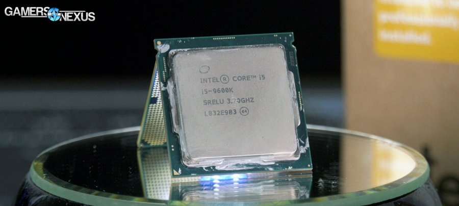 Intel i5-9600K Review vs. R7 2700, R5 2600, i7-8700K, et al.