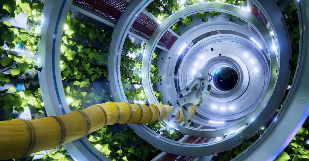 ADR1FT: Hands-On with a First-Person Space Experience