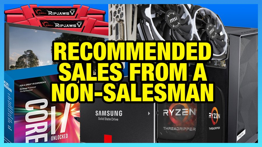 Black Friday Sale Picks: RAM, CPUs, Monitors, SSDs, Cases, PSUs, & GPUs