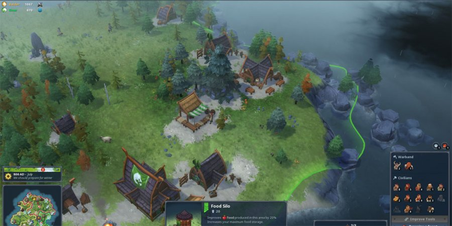 RTS Re-Awakening: Northgard Hands-On Preview
