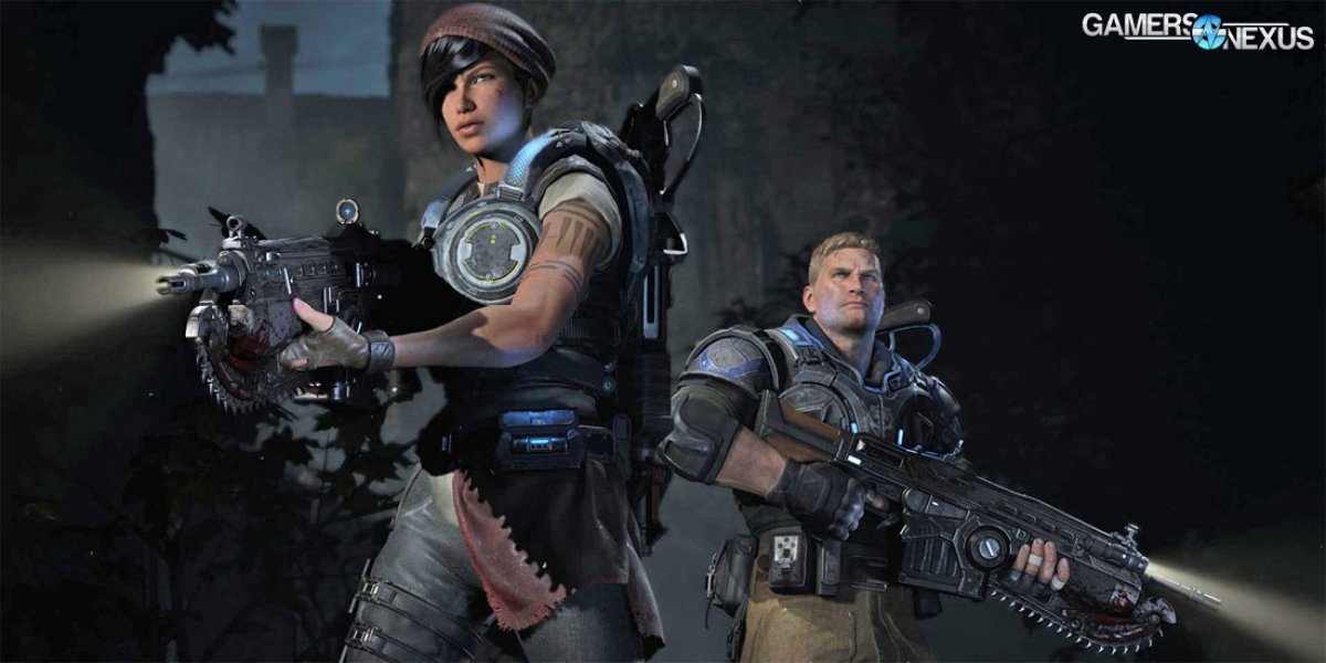 UPDATED: Gears of War 4 GPU Benchmark - Ultra, High, & Scaling