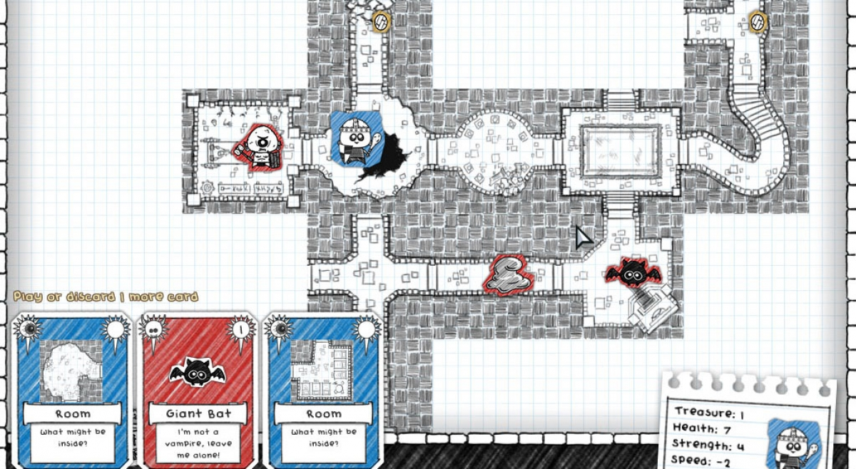 Guild of Dungeoneering is a Charming, Munchkin-like RPG