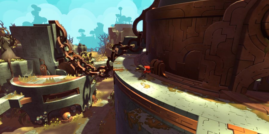 Hob Gameplay Preview: Runic's Sundered World | PAX