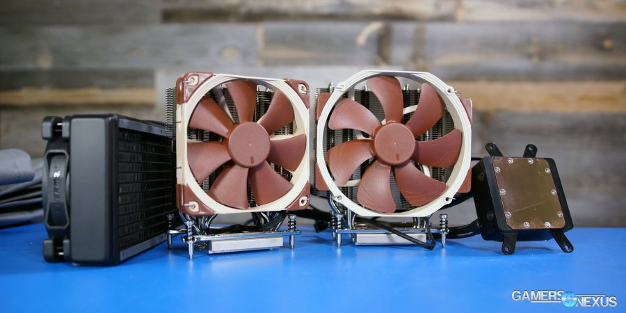 Noctua NH-U14S Air vs. Enermax Liqtech 240 Liquid Cooler for Threadripper