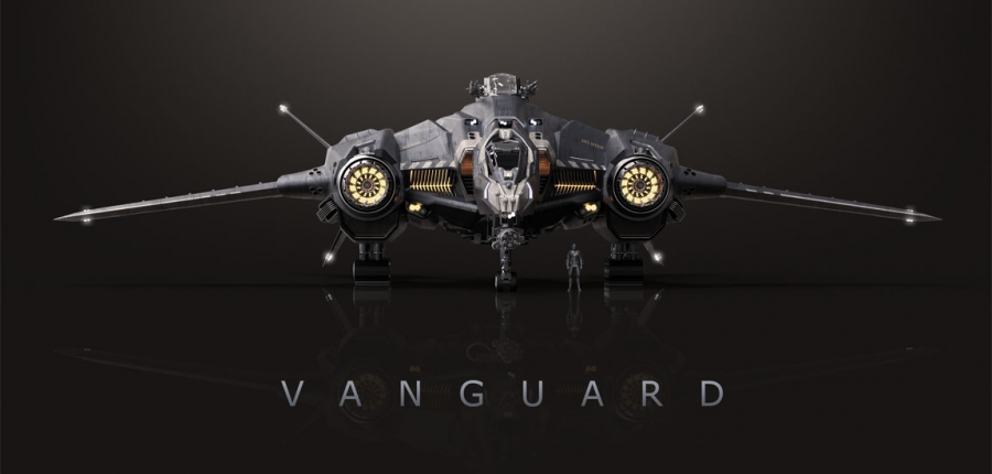 Star Citizen's Aegis Vanguard Goes on Sale For $250