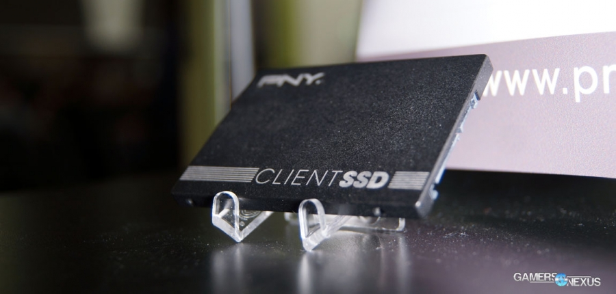 PNY Shows High-Performance Client SSD CL4111 at GTC 2015