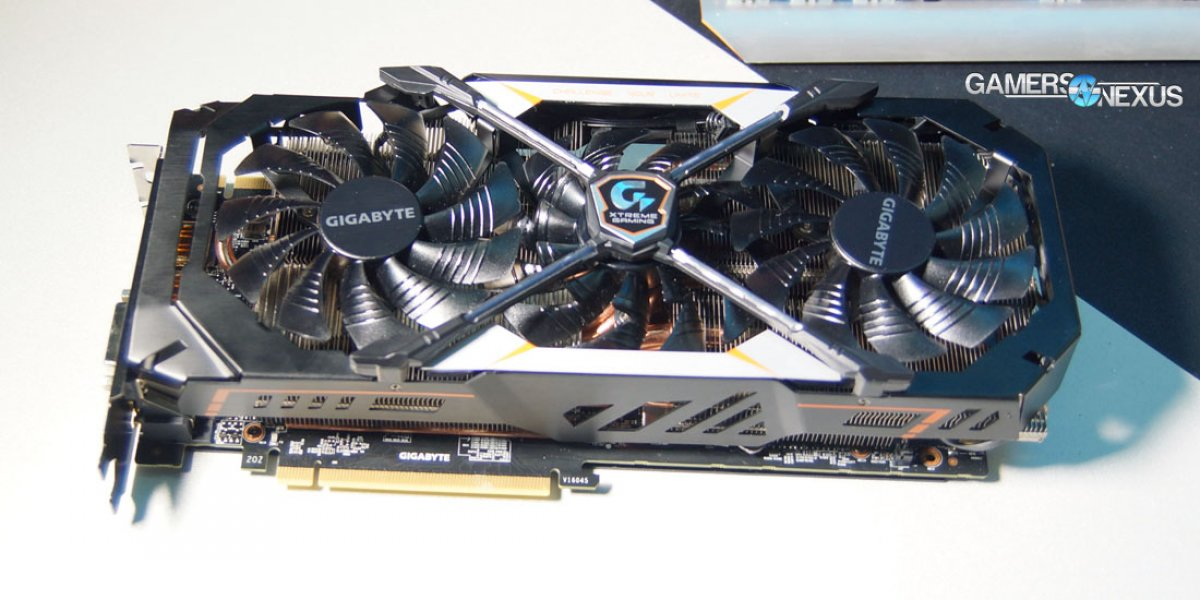 Hands-On: Gigabyte GTX 1080 Xtreme Gaming Stacked Fan & G1 at Computex