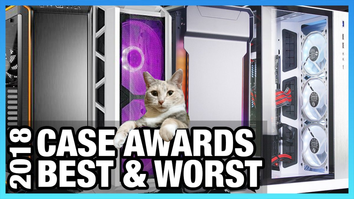 awards show best worst pc cases of 2018 gamersnexus gaming pc