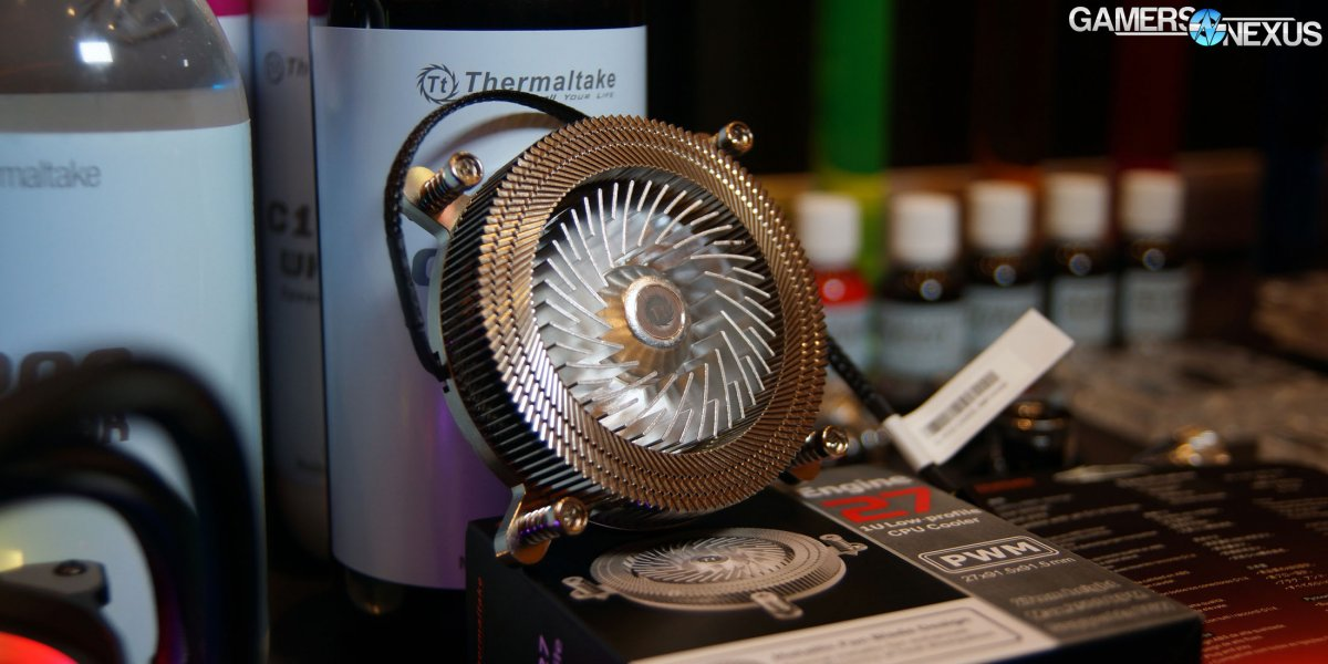 Thermaltake Sandia-Style Cooler, P1 TG Wall-Mounted mITX, & Rainbow AIO